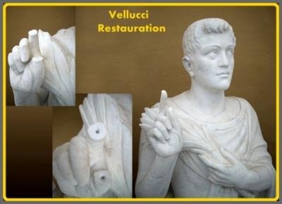 Restaurierung Statue