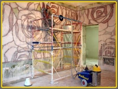 Restaurierung Wand